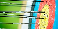 Lucy prepares for Junior National Archery Competition image