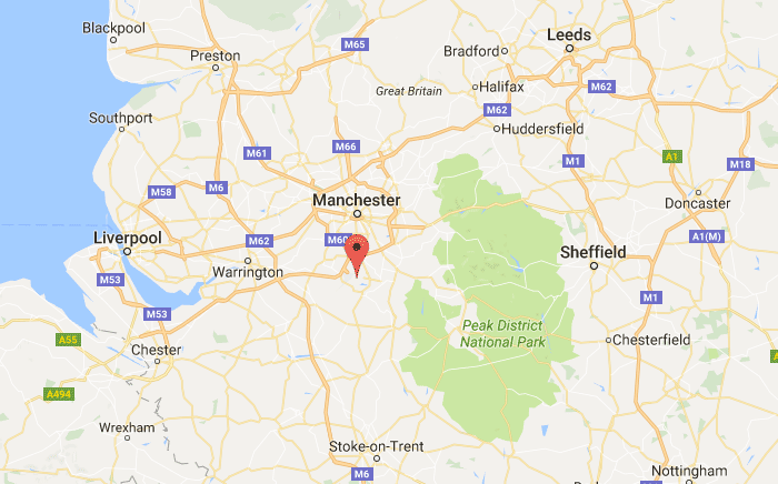 Manchester Office Map