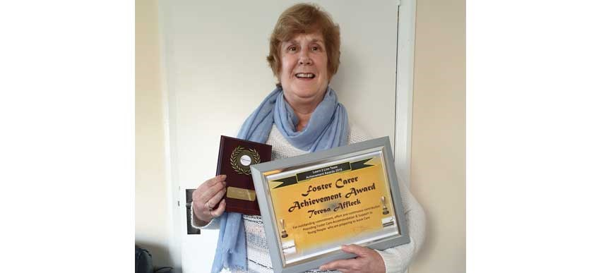 "By the Bridge Foster Parent awarded ""Foster Carer Achievement Award"" image"